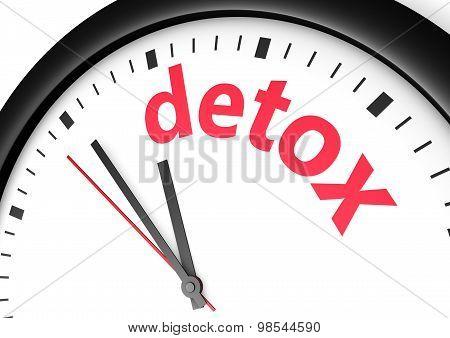 Detox Diet Time Concept