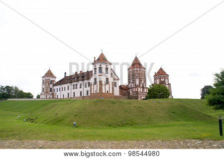 Medieval castle on the hill
