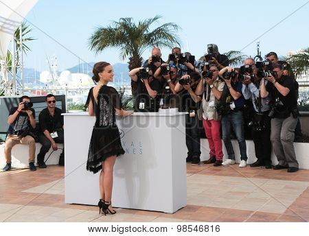 Director Natalie Portman attend the 'A Tale Of Love And Darkness' Photocall during the 68th annual Cannes Film Festival on May 17, 2015 in Cannes, France.