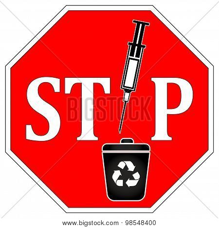 No Syringes In Recycle Bin