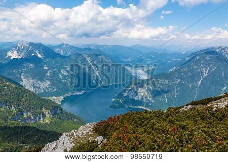 Lake Hallstatt - View From Dachstein