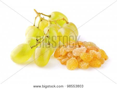 Grape with raisins