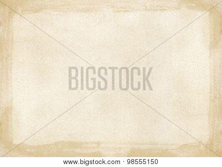 A4 size beige brown grunge retro style background
