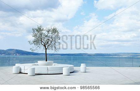 Beautiful View Mediterranean Seascape