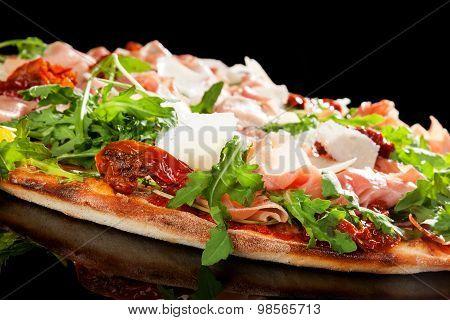 Prosciutto Pizza.