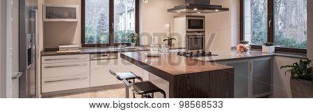 Beautiful Modern Kitchen Hood