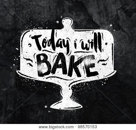 Poster Bake Chalk