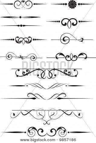 dekorative Elemente