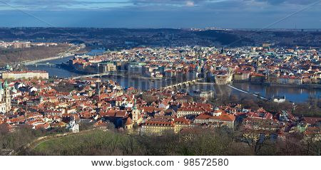 View Over Prague