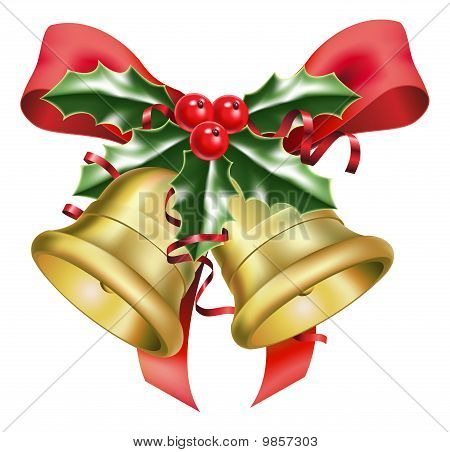 Festive Bells And Bows