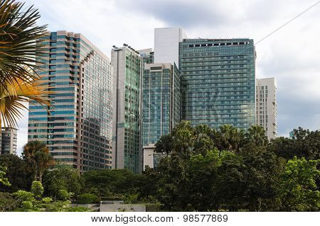 Multi-storey Modern Office Buildings