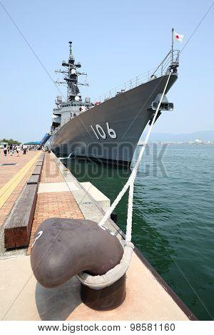 Japanese warship