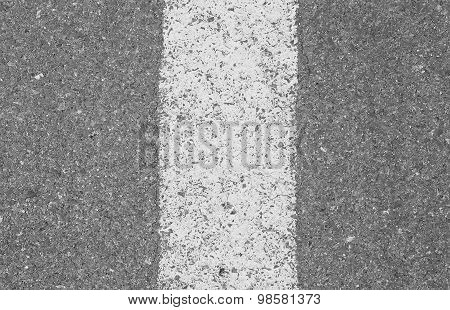 Asphalt Road Closeup
