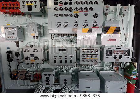 Inside of warship