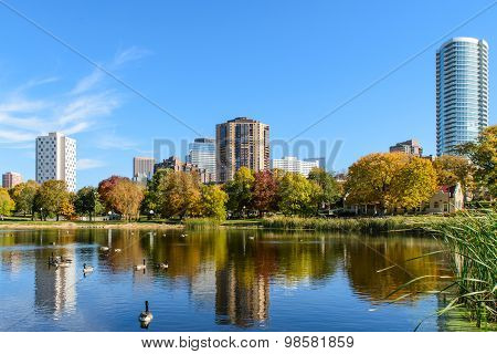 Loring Park In Autumn 1