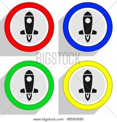 Spaceship Vector Symbols Set 2