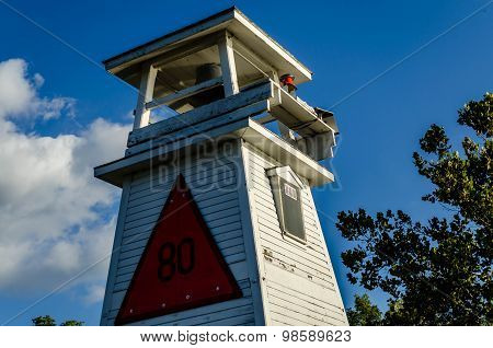 Fort Washington, MD - SEPTEMBER 19 2013 - Fort Washington Lighthouse
