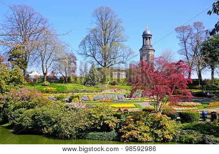 The Dingle Garden, Shrewsbury.