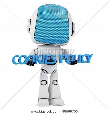 Cookies Law Concept.