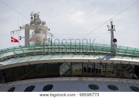 Flag On Vessel