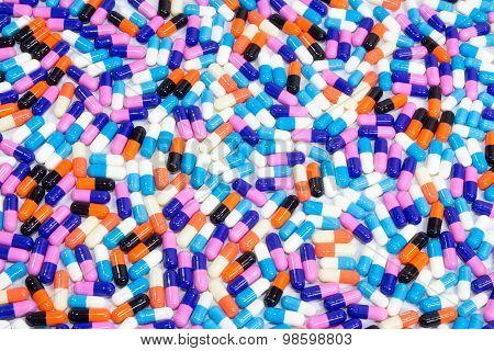 Pills Of Capsule