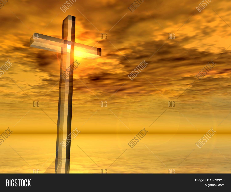 high resolution christian cross image  u0026 photo