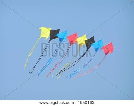 Flying Multiple Kites
