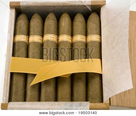 Box of Cuban Cigars