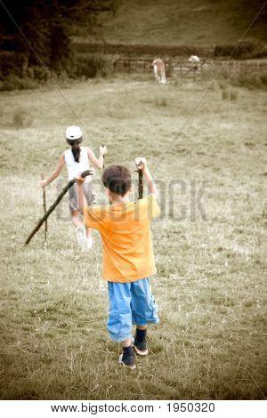 Childhood Memories A Walk In The Village Hills