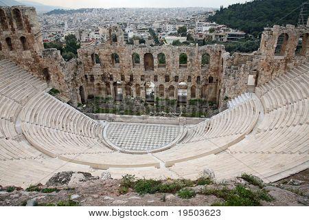 Athens Acropolis theater - Athens, Greece