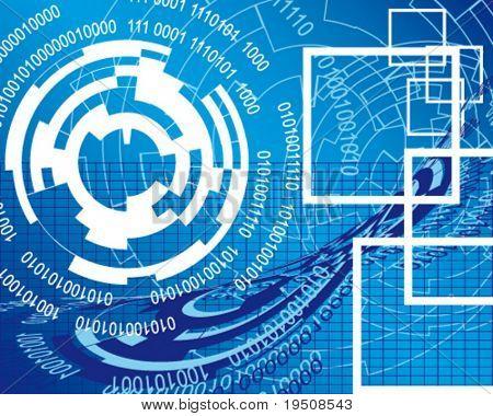 illustration of maze