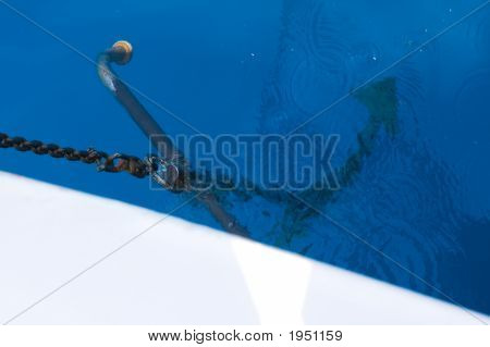Anchor Of A Boat