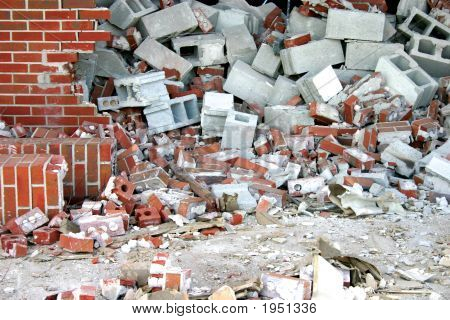 Brick And Cinder Block Demolition