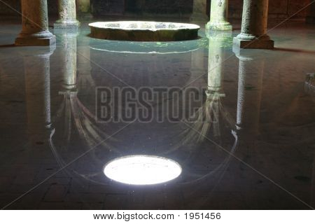 Portugese Cistern In El Jadida, Morocco