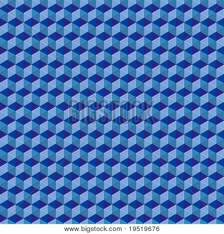 Blaue Mosaik Hintergrund - eine Illustration für Ihre Design-Projekt.