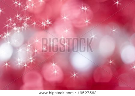 sparkly red and white background for christmas