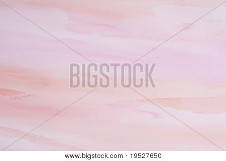 pink and red watercolor paint pastel background  - textured paper