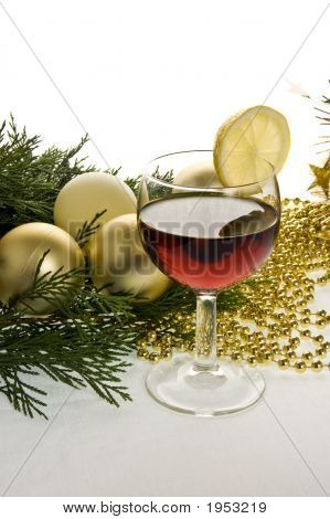 Wine And Decorations