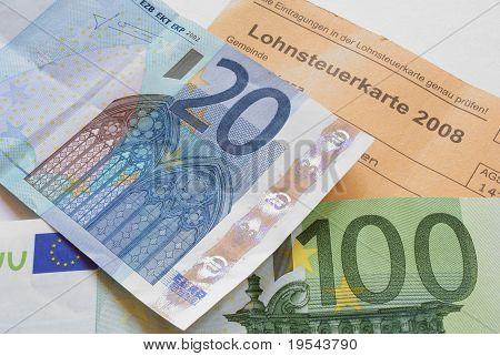 income tax card