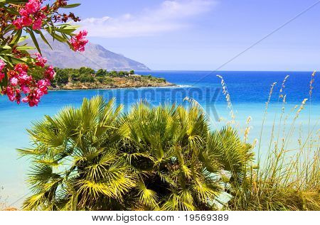 Beautiful tropical ocean view
