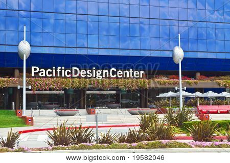 Pacific Design Center In Los Angeles
