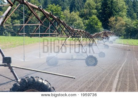 Farm Field Irrigation Crawler