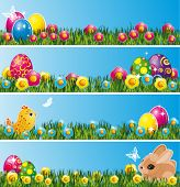stock photo of pasqua  - Set of Easter decor elements - JPG