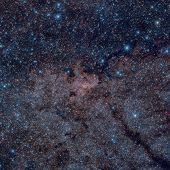 The Galactic Centre Of The Milky Way. Infrared Image. poster
