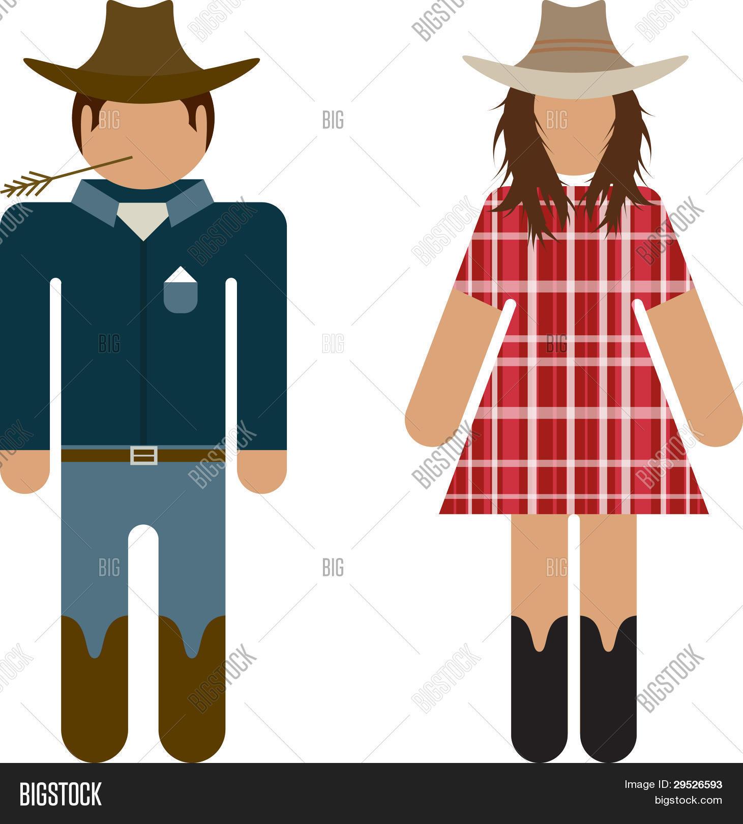 Cowboy e Cowgirl banheiro símbolos Bancos de Vetores & Bancos de Fotograf -> Símbolo Banheiro Feminino