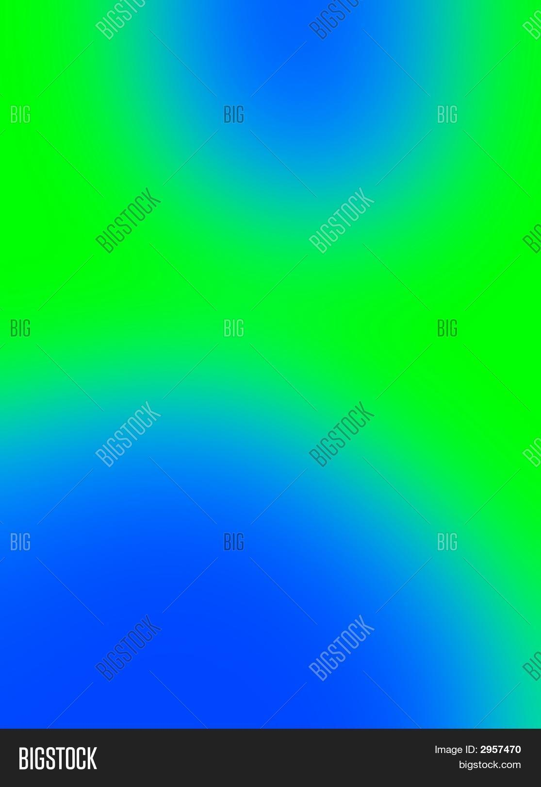 Blue Lava Lamp Wax Blobs On Green Image Amp Photo Bigstock