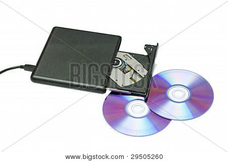 External Dvd Drive And Disks