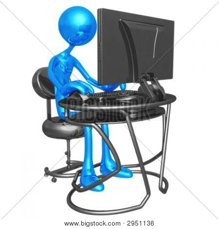 Computer-Arbeitsplatz