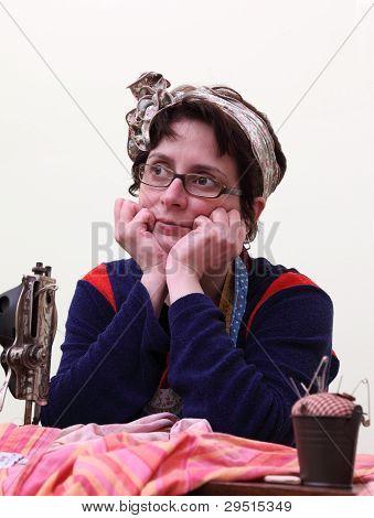 Portrait Of A Seamstress