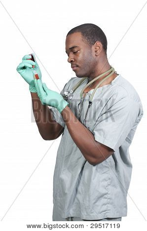 Doctor With A Syringe